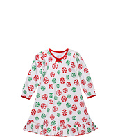 Sara's Prints Kids - Girls Puffed L/S Gown (Toddler/Little Kids)