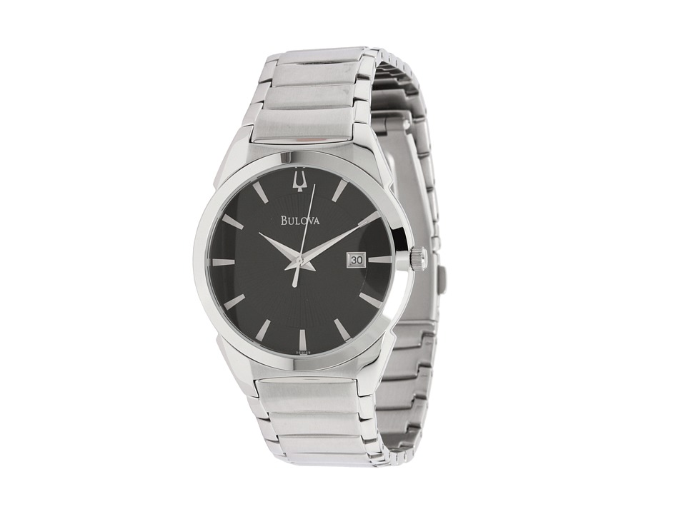 Bulova - Mens Dress - 96B149 (Black/Stainless Steel) Watches