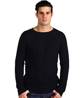 Vince - Double Raw Long Sleeve Crew