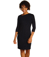 Ellen Tracy - Knit Sheath w/ Sculpted Neckline
