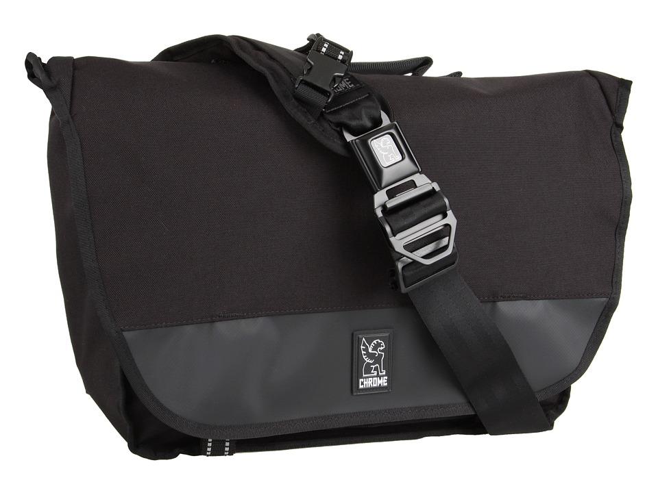 Chrome Buran Laptop Messenger All Black Bags
