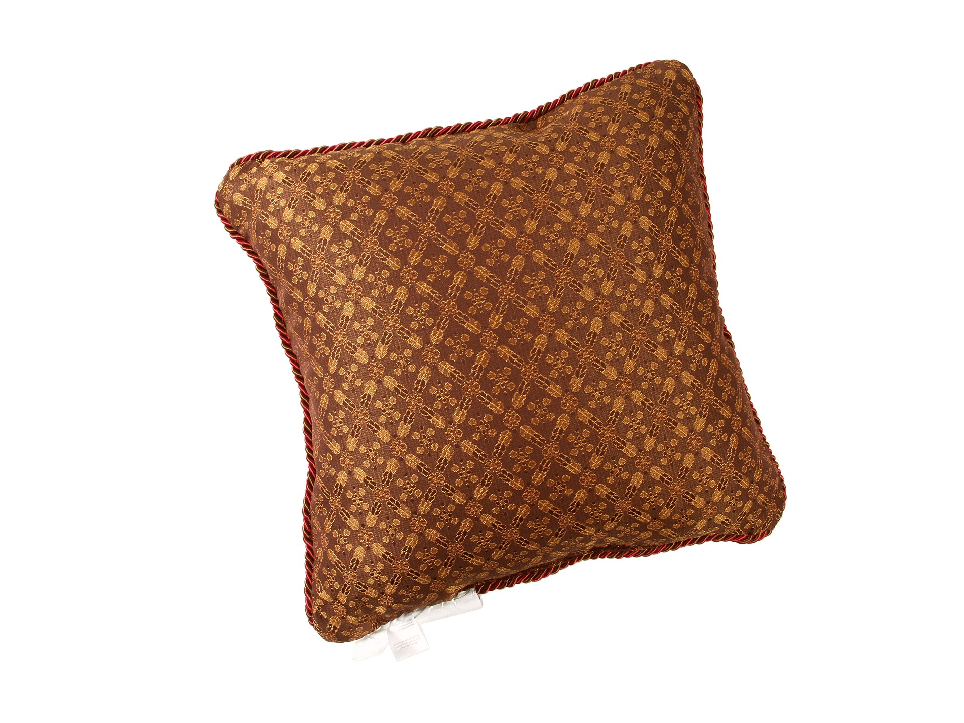 Croscill Galleria Red Fashion Pillow Red Shipped Free at Zappos