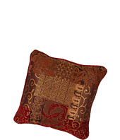 Croscill - Galleria Red Square Pillow