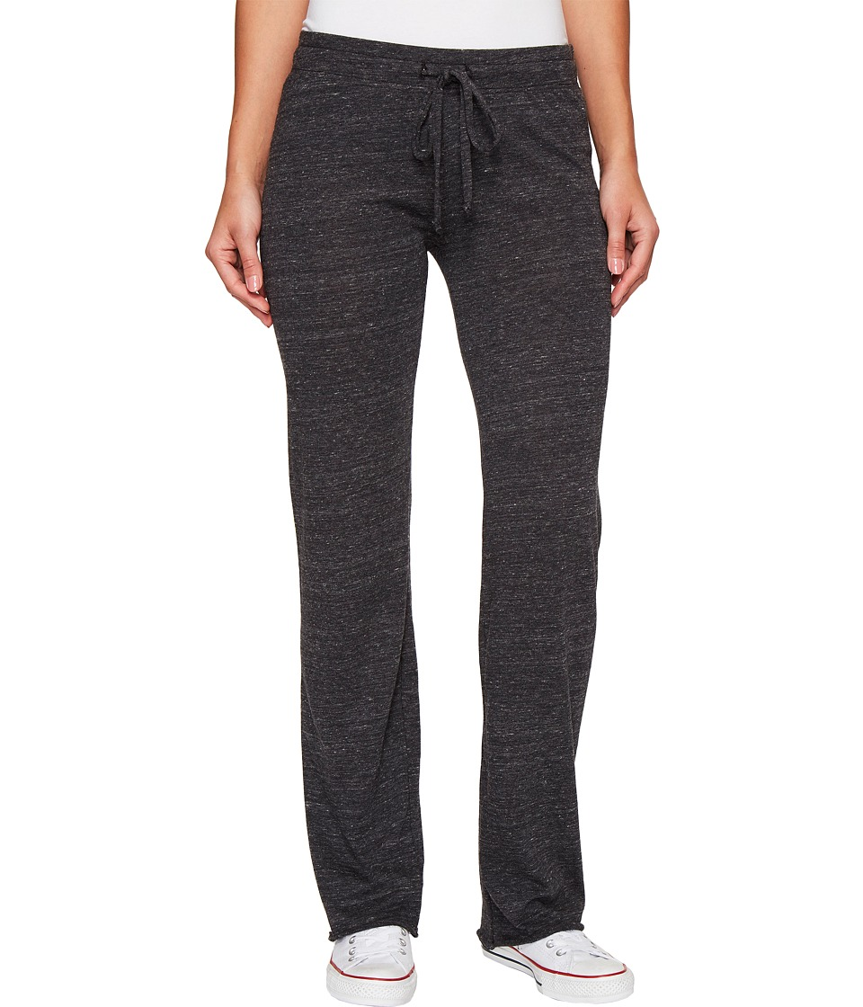 Alternative - Eco-Heather Long Pant (Eco Black) Women's Casual Pants