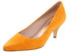 Salvatore Ferragamo - Dalia - Short Heel (Albicocca Suede) - Footwear