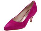 Salvatore Ferragamo - Dalia - Short Heel (Pivoine Suede) - Footwear