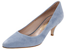 Salvatore Ferragamo - Dalia - Short Heel (Jeans Suede) - Footwear