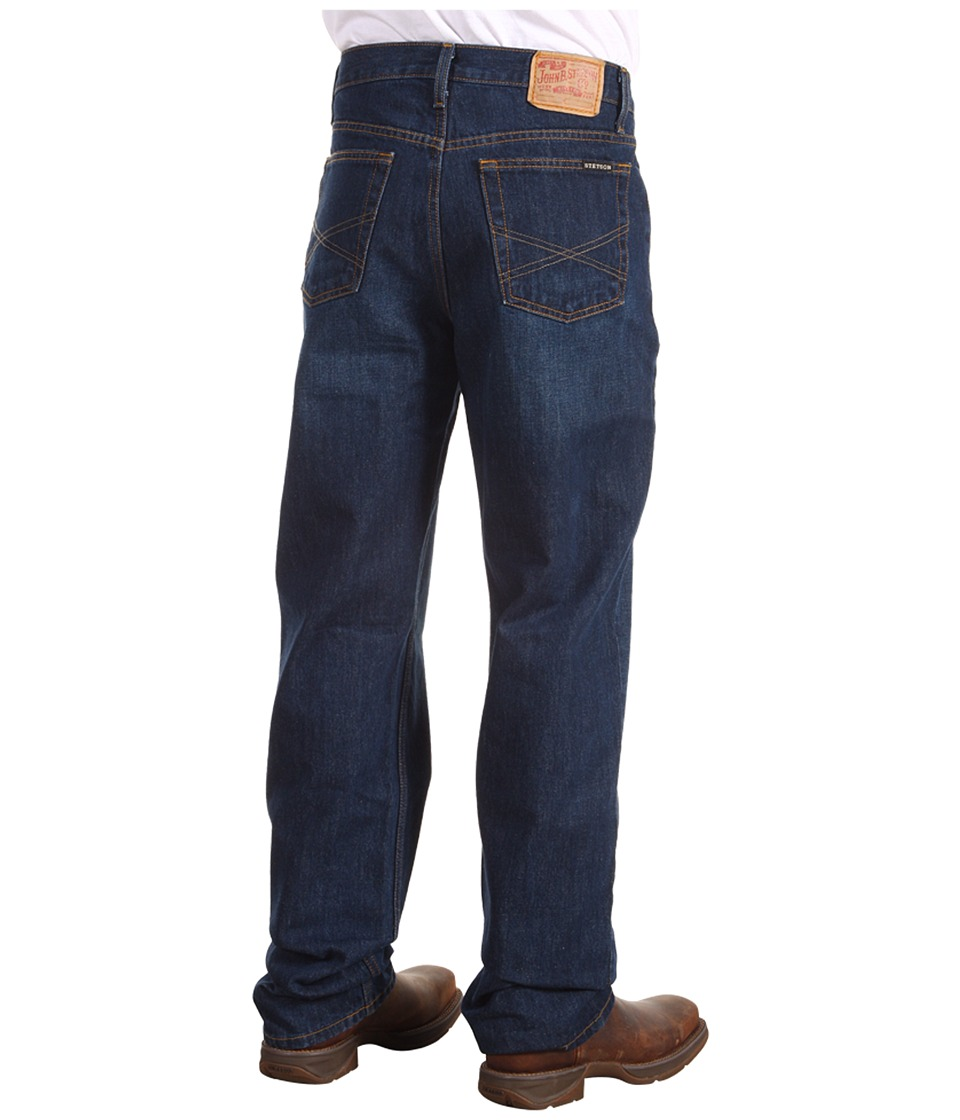 Stetson 1520 Fit Jean (Dark Rinse Denim) Men