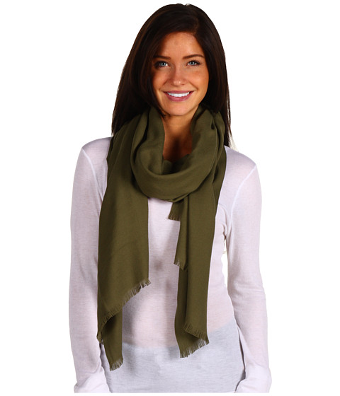 Love Quotes - Rayon Eyelash Fringe Scarf (Loden 2) - Accessories