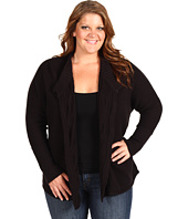 Calvin Klein Jeans Plus - Plus Size Fit And Flare Cassie Cotton Cardigan