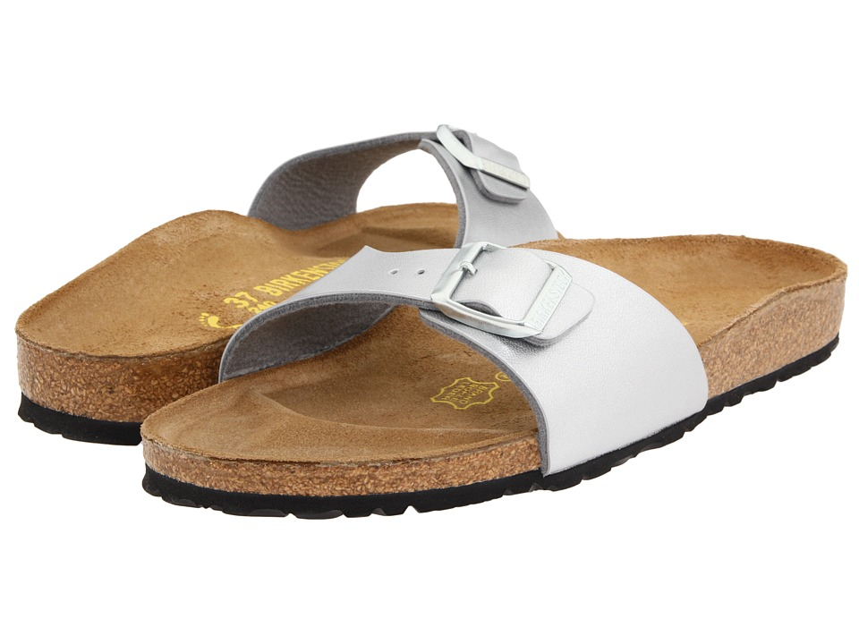 Birkenstock Madrid Slip-On (Silver Birko-Flor ) Women
