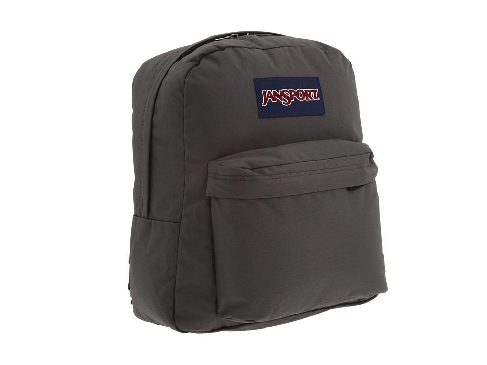 JanSport Spring Break Forge Grey Backpack Bags