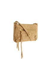 Linea Pelle - Jade Croco Top Zip Clutch