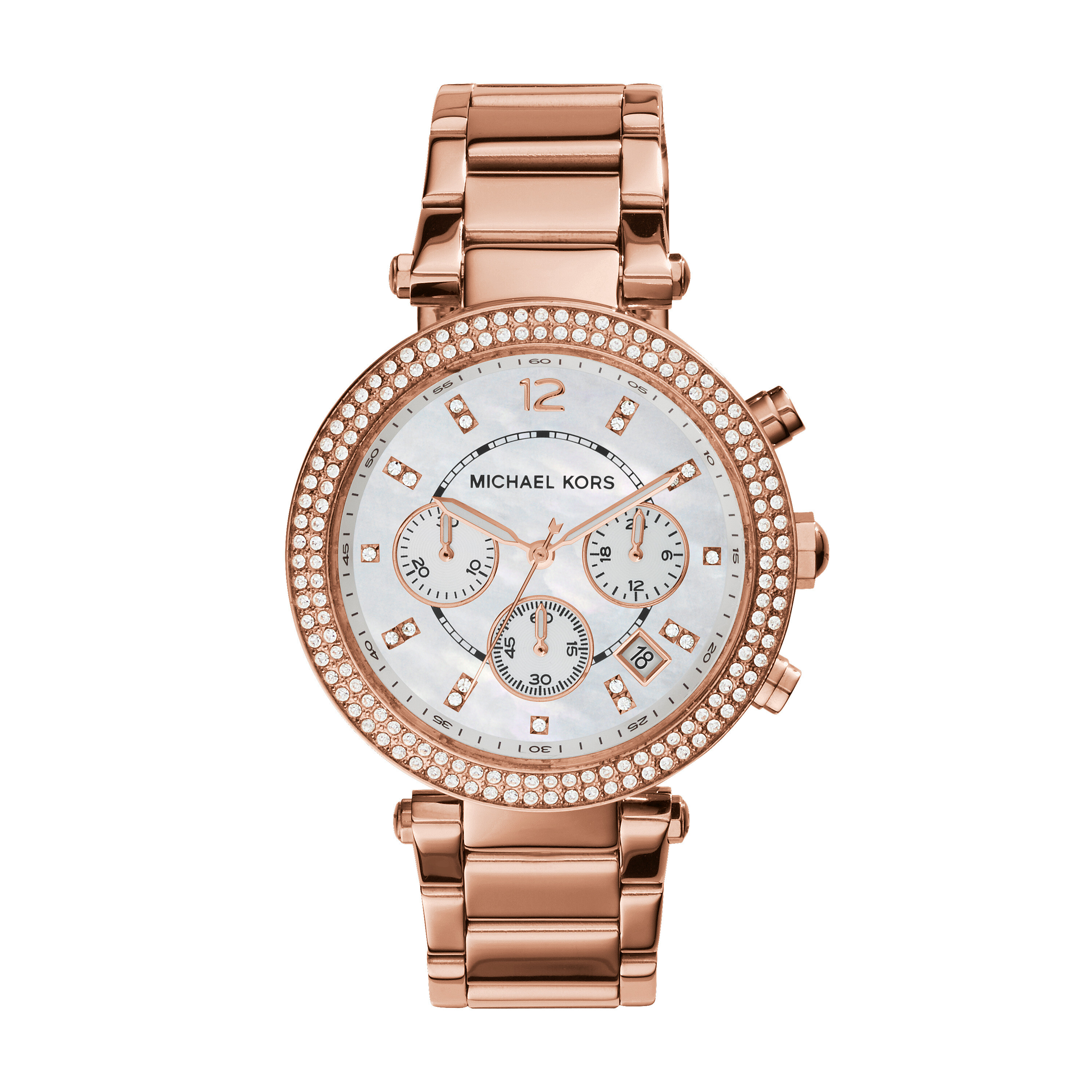Michael Kors MK5491 - Parker Chronograph - Rose Gold IP