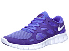 Nike - Free Run+ 2 (Bright Blue/Loyal Blue/Pure Platinum) - Footwear