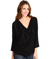 Michael Stars - Sequin Stripe Drape Neck Dolman