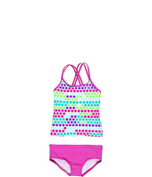 Nike Kids - Fragmented Dot Spider Back Tankini (Big Kids)