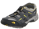 The North Face Kids - Hedgefrog (Toddler/Youth) (Dark Shadow Grey/Lightning Yellow) - Footwear