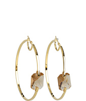 Vince Camuto - Core Ears Stone Center Hoops