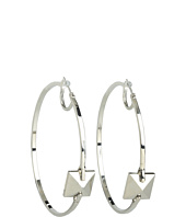 Vince Camuto - Core Ears Pyramid Center Hoops