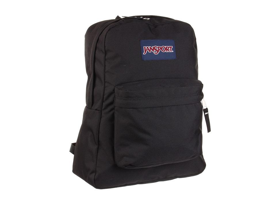 JanSport - SuperBreak (Black) Backpack Bags