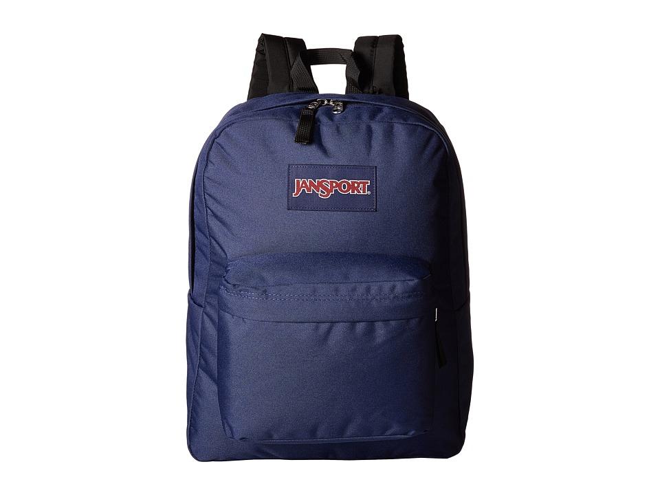 JanSport - SuperBreak (Navy) Backpack Bags