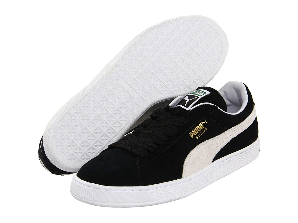 Suede Classic (Black/White) Shoes