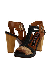 Juicy Couture - Crista Woven Double Buckle Heels