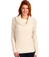 Adrienne Vittadini - Wide Draped Cowl Neck Pullover Sweater