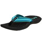 Reef - Playa Negra (Black/Turquoise) - Footwear