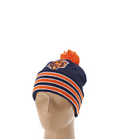 Mitchell & Ness - Chicago Bears Jersey Stripe Cuffed-Knit Beanie w/Pom Pom