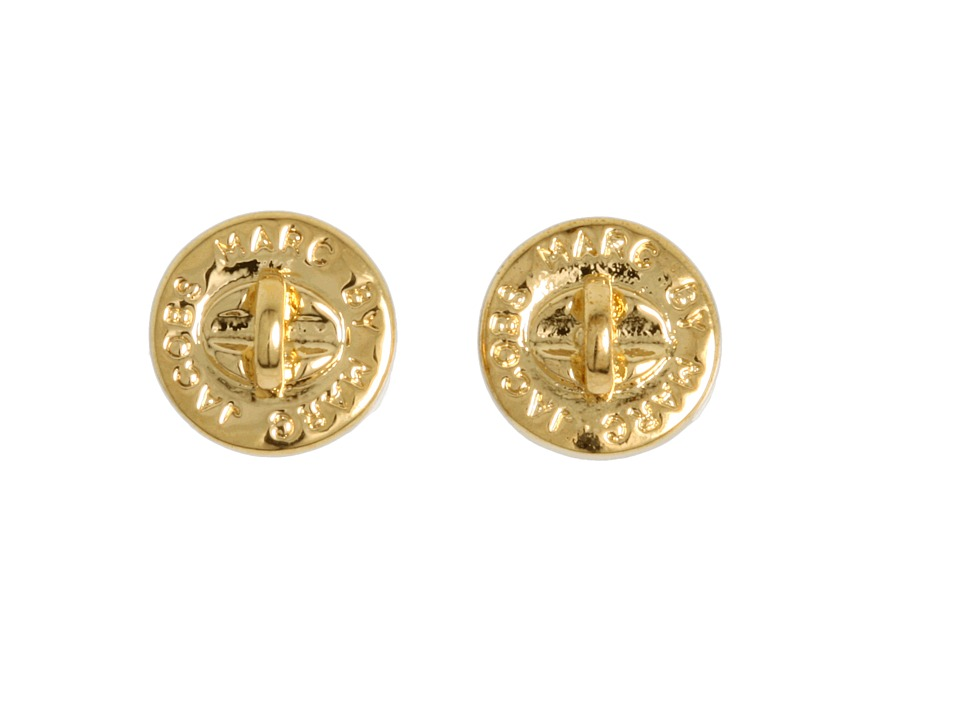 Marc by Marc Jacobs Turnlock Studs Oro Earring