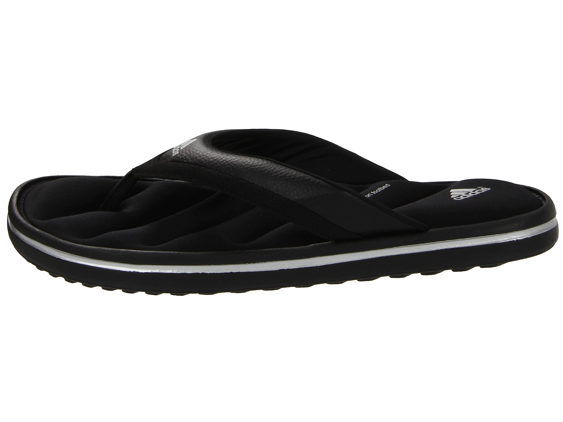 Cool ADIDAS THONG SANDALS US 7 WOMENS Soft Foam Footbed Black Pink  EBay