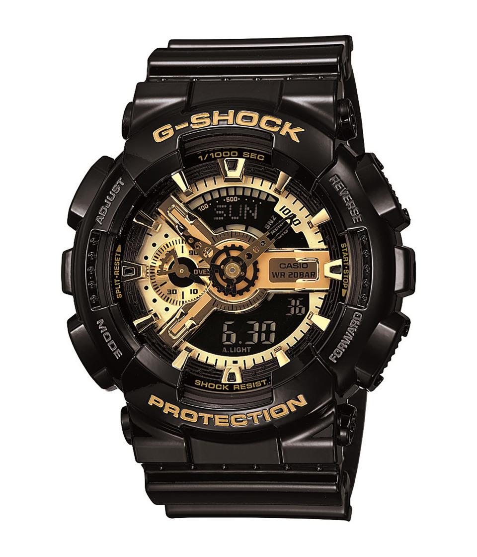 G-Shock - X-Large Combi GA110 (Black/Gold) Digital Watches