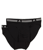 adidas - Athletic Stretch ClimaLite® 2-Pack Sport Brief