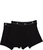 adidas - Athletic Comfort ClimaLite® COTTON 2-Pack Boxer Brief