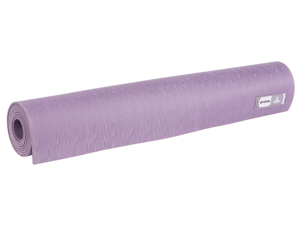 Prana - Indigena Natural Yoga Mat (Plum) Athletic Sports Equipment