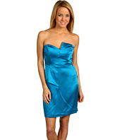 Nicole Miller - Double Face Satin Strapless Dress