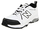 New Balance MX608v3 White, Black Shoes