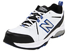 New Balance MX608v3 White, Black, Blue Shoes