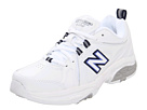 New Balance WX608v3 White, Navy Shoes