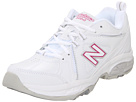 New Balance WX608v3 White, Pink Shoes