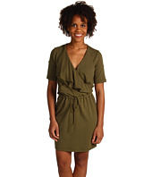 Green Dragon - Moto French Terry Dress