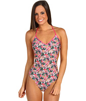 Paul Smith - Watercolor Floral Cut Away One Piece