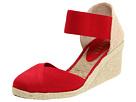 LAUREN by Ralph Lauren - Charla (Red Elastic) - Footwear