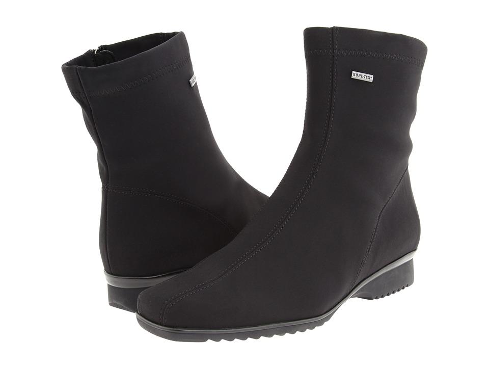 ara - Page (Black Fabric) Womens Waterproof Boots