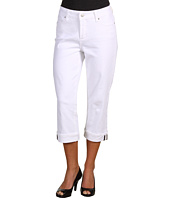 NYDJ - Erin Capri w/ Stripe Trim Selvage Denim
