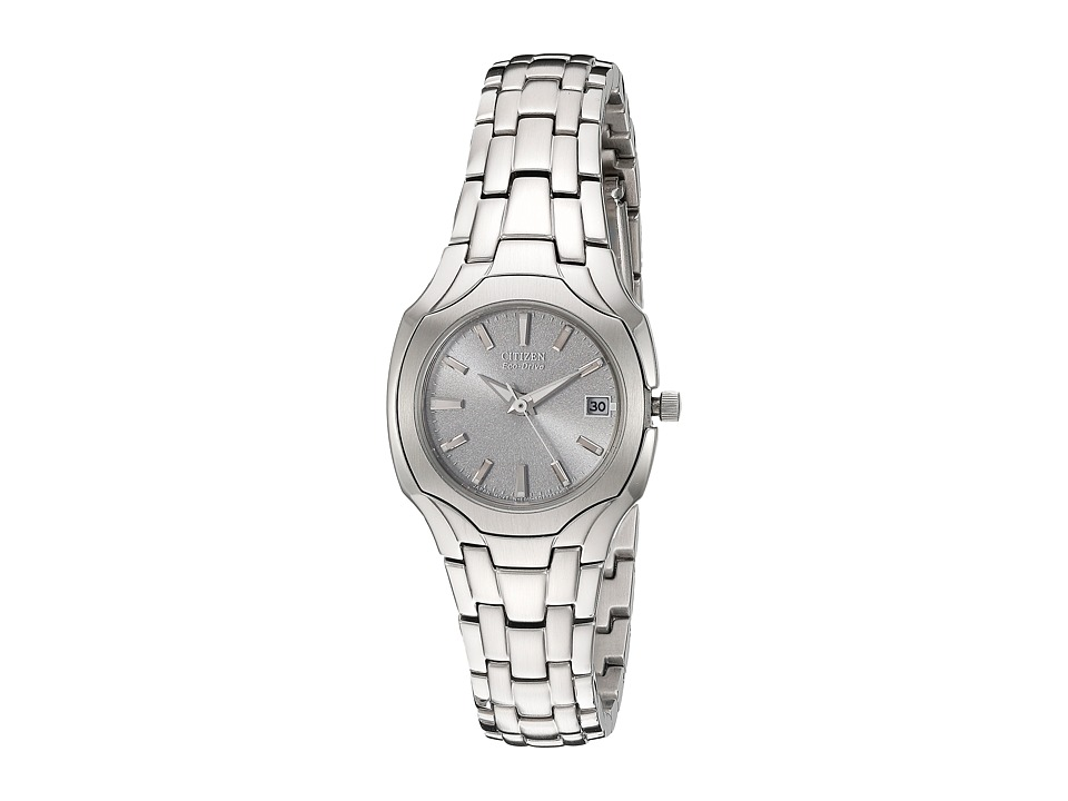 Citizen Watches EW1250 54A Eco Drive Stainless Steel Watch Stainless Steel/Silver Watches