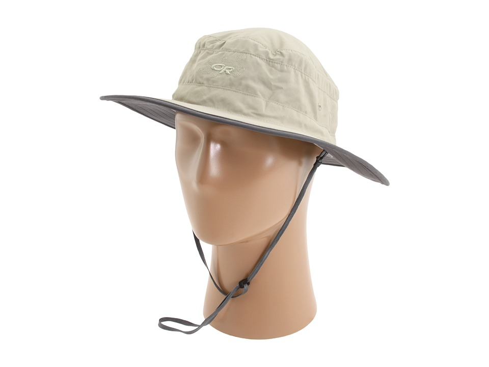 Outdoor Research - Solar Roller Hat (Khaki/Dark Grey) Caps
