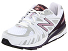 New Balance W1540 White, Purple Shoes